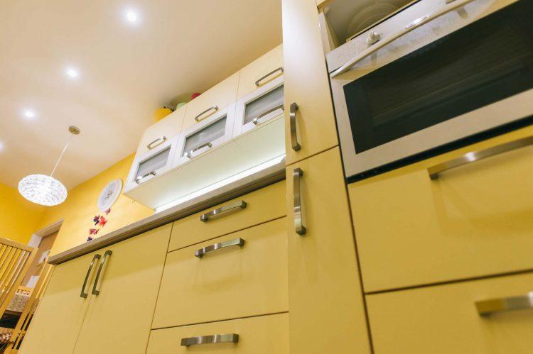 Kuchyňa v pastelových farbách