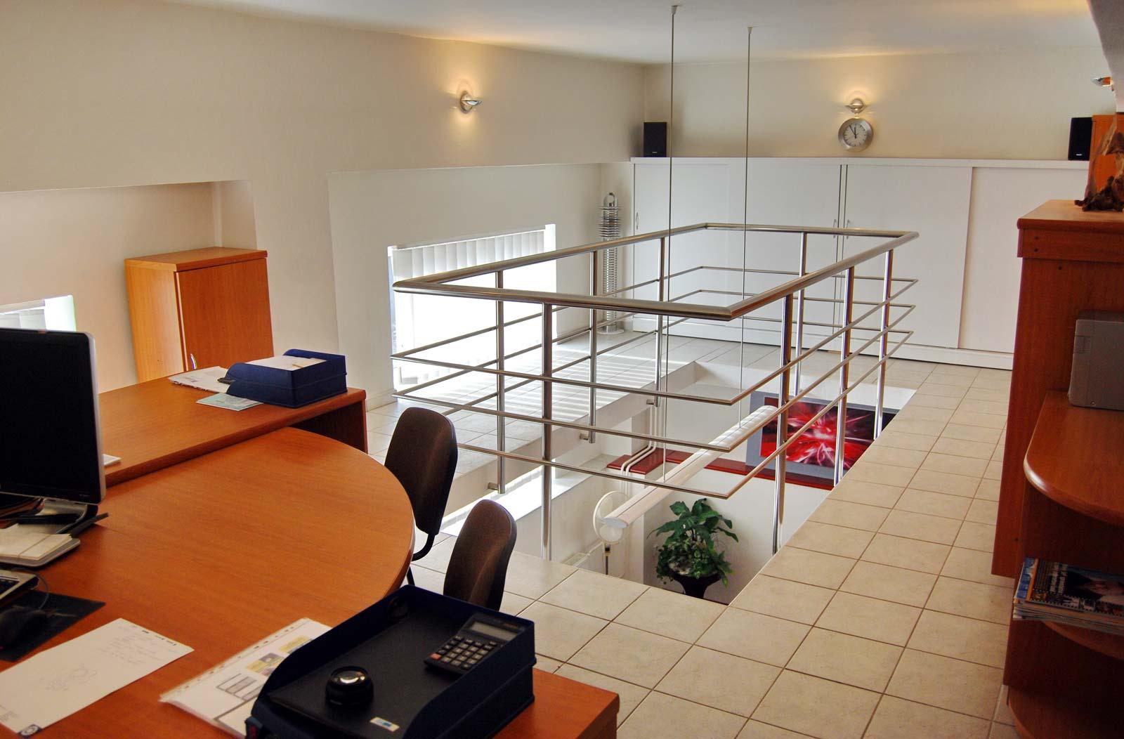 Kancelária v atypickom priestore